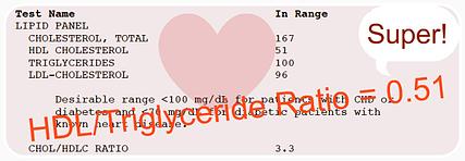 HDL-Triglyceride Ratio